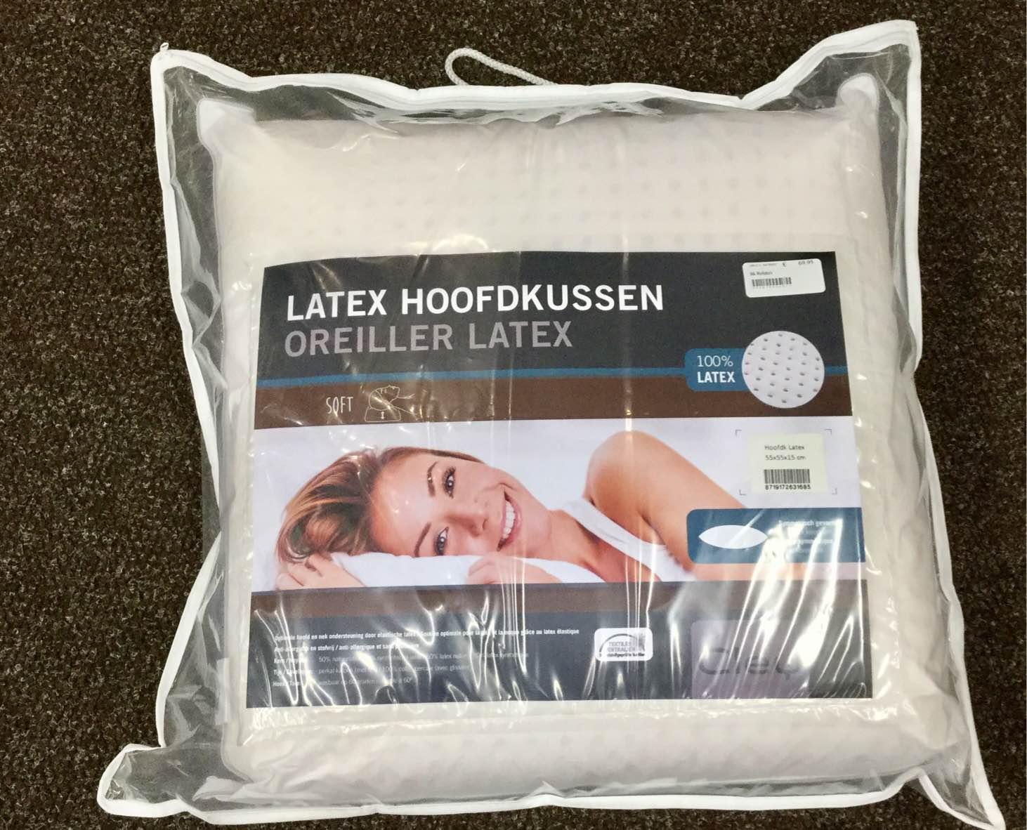 Hoofdkussen latex 60/60 Image